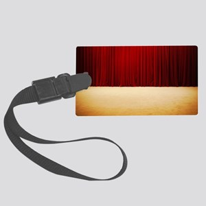 Theater stage curtains Large Luggage Tag