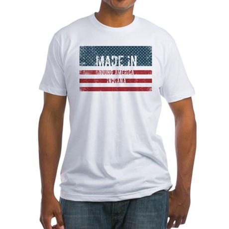 Made in Young America, Indiana T-Shirt
