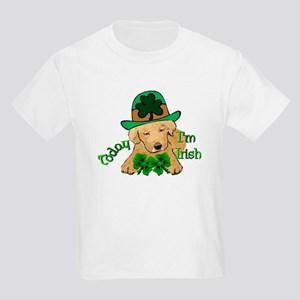 St Paddy Labrador Retriever Kids T-Shirt