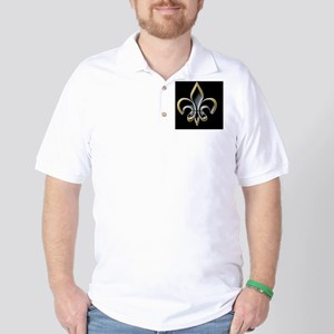 Revised FDL on BLK 5x3oval_sticker Golf Shirt