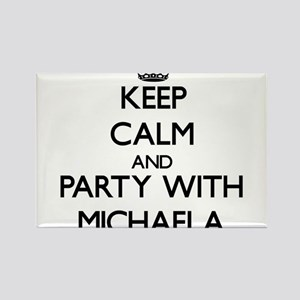 Keep Calm and Party with Michaela Magnets