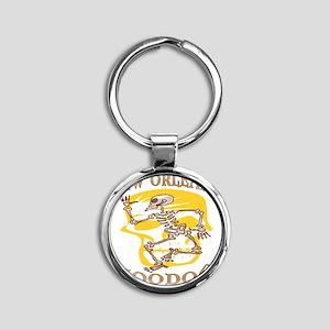 nolagrisgris2bv Round Keychain