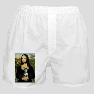 5.5x7.5-Mona-Chih-BlueTan Boxer Shorts