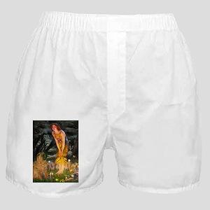 card-MidEve-Sharpei1-nc Boxer Shorts