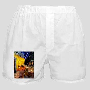 MP-Cafe-Dachs-Brwn1 Boxer Shorts
