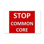 Stop Common Core Wall Decal