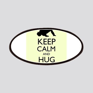 Keep Calm and Hug the Baby Mantra Patches