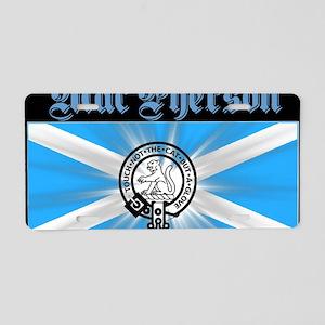 design026 Aluminum License Plate