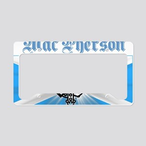 design026a License Plate Holder