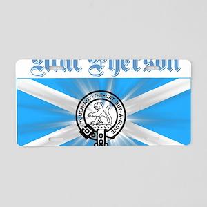 design026a Aluminum License Plate