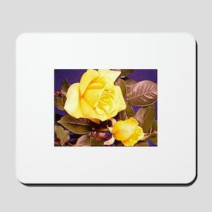 Yellow rose photography Mousepad