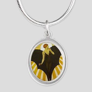 Art Deco Bat Lady Pin Up Flapper Necklaces
