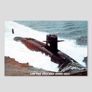 vsteuben sticker Postcards (Package of 8)
