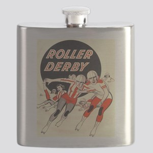 Roller Derby Advertisemnt Image Retro Derby Girl F