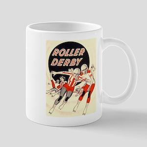 Roller Derby Advertisemnt Image Retro Derby Girl M