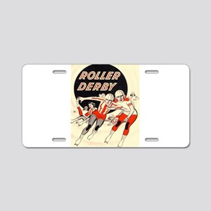 Roller Derby Advertisemnt Image Retro Derby Girl A