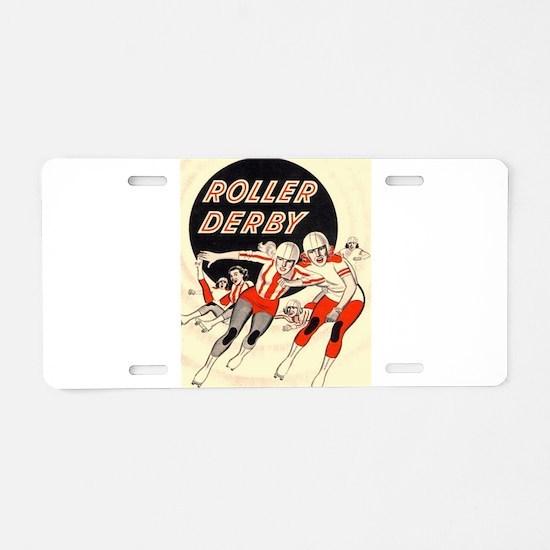 Roller Derby Advertisemnt Image Retro Derby Girl A