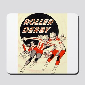 Roller Derby Advertisemnt Image Retro Derby Girl M