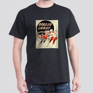 Roller Derby Advertisemnt Image Retro Derby Girl T