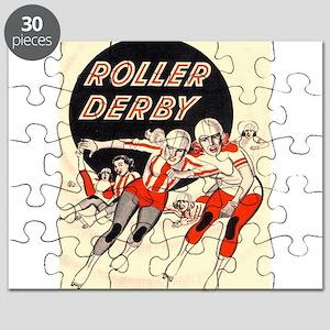 Roller Derby Advertisemnt Image Retro Derby Girl P