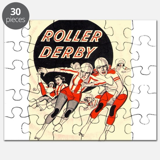 Roller Derby Advertisemnt Image Retro Derby Girl P