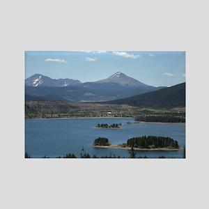 Lake Dillon Frisco Colorado Natur Rectangle Magnet