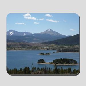 Lake Dillon Frisco Colorado Nature Lands Mousepad