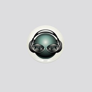 dj1 Mini Button