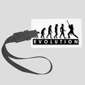 2-evolution-rock star-- Large Luggage Tag