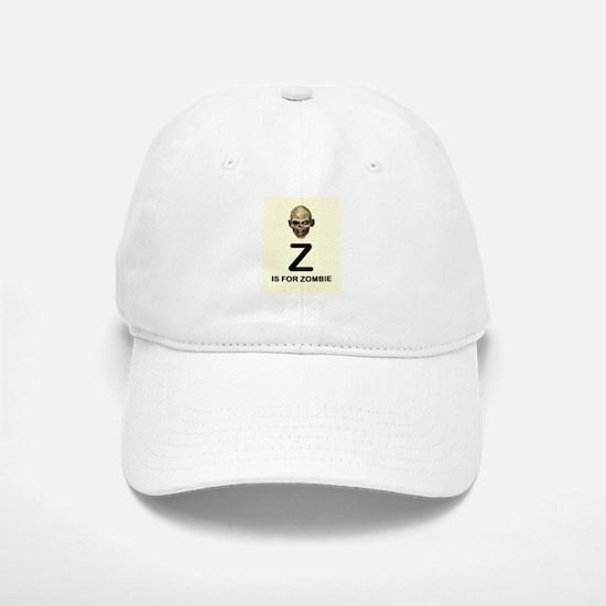 Z is for Zombie Childrens Alphabet Illustration Ba