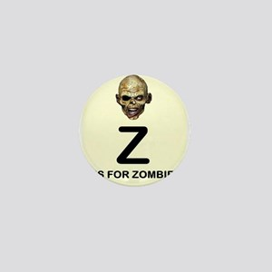 Z is for Zombie Childrens Alphabet Illustration Mi