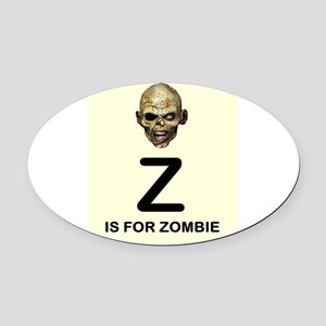 Z is for Zombie Childrens Alphabet Illustration Ov