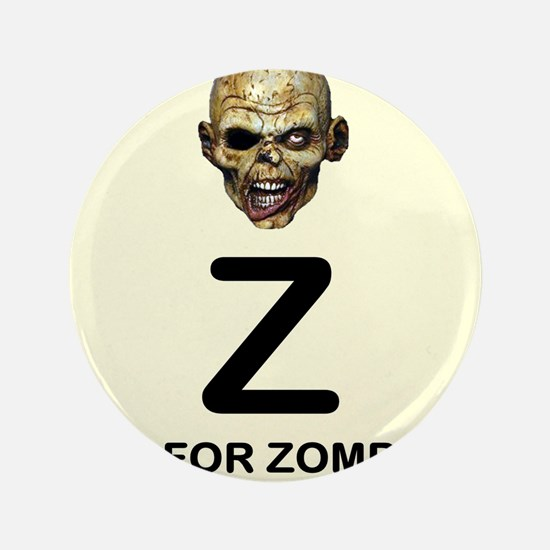 Z is for Zombie Childrens Alphabet Illustration 3.