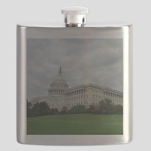 U.S. Capitol Building Washington D.C. Photo  Flask