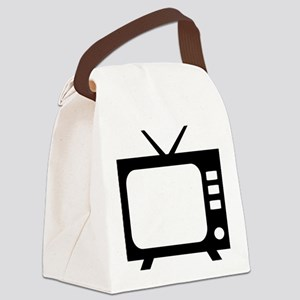tv Canvas Lunch Bag