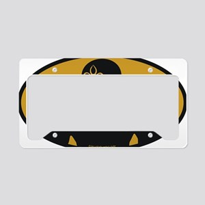 datwoman License Plate Holder