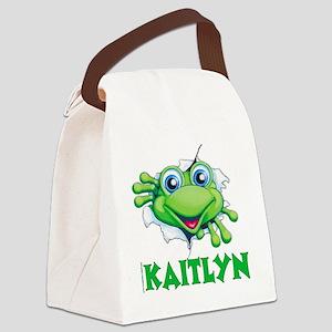 kaityln-frogtear Canvas Lunch Bag