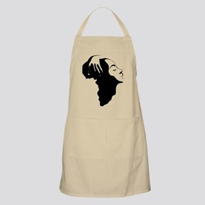 Africa and Woman Apron