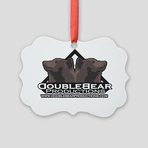 doublebearlogo-blackwebsite Picture Ornament