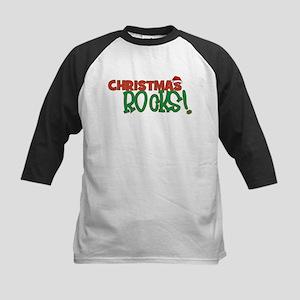 CHRISTMAS ROCKS Baseball Jersey