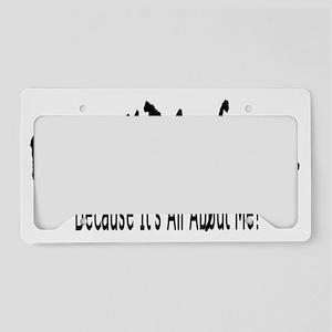 HBCUforVinerHandITC83 License Plate Holder