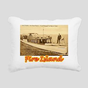 Fire Island Rectangular Canvas Pillow