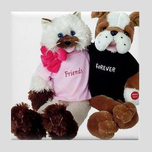 friendship_duet forever correcton Tile Coaster