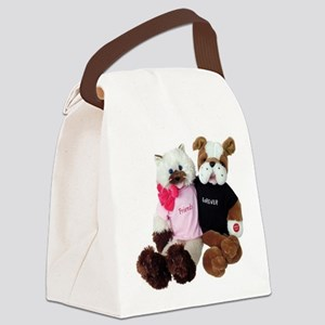 friendship_duet forever correcton Canvas Lunch Bag