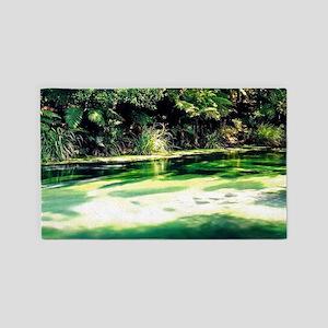 Terawera-Falls-River-183-14 3'x5' Area Rug