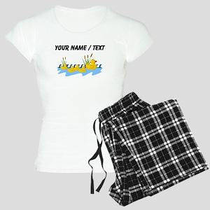 Custom Rubber Duck Family Pajamas