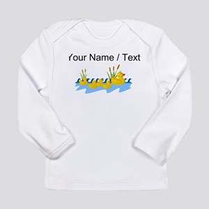 Custom Rubber Duck Family Long Sleeve T-Shirt
