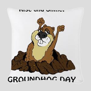 GHD_V2 copy Woven Throw Pillow