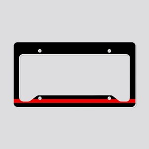 Firefighters License Plate Holder
