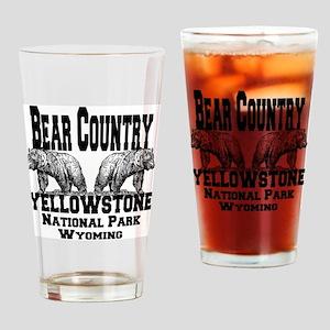 bearcountry_yellowstonenp Drinking Glass